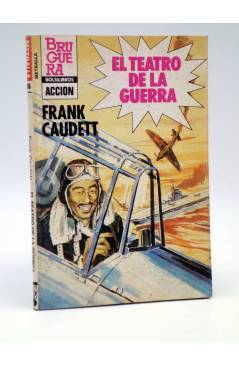 Cubierta de METRALLA 186. EL TEATRO DE LA GUERRA (Frank Caudett) Bruguera 1983