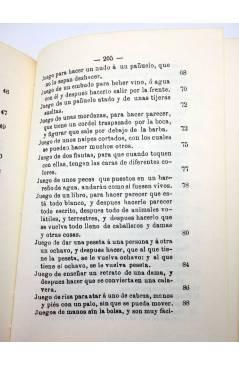 Muestra 3 de FACSIMIL JUEGOS DE MANOS O SEA ARTE DE HACER DIABLURAS (Pablo Minguet) Alta Fulla 1981