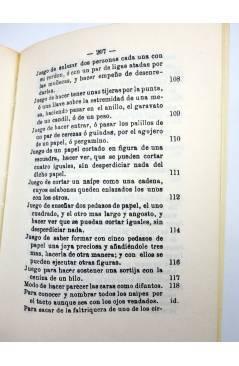 Muestra 5 de FACSIMIL JUEGOS DE MANOS O SEA ARTE DE HACER DIABLURAS (Pablo Minguet) Alta Fulla 1981