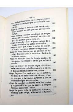 Muestra 7 de FACSIMIL JUEGOS DE MANOS O SEA ARTE DE HACER DIABLURAS (Pablo Minguet) Alta Fulla 1981
