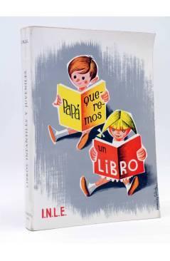 Cubierta de CATÁLOGO INLE LIBROS INFANTILES Y JUVENILES 1965 (Vvaa) INLE 1965