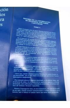 Muestra 1 de HISTORIA DE LA CONGREGACIÓN DE RELIGIOSOS TERCIARIOS CAPUCHINOS DE NTRA SRA DE LOS DOLORES. TOMO V. S (Tomá