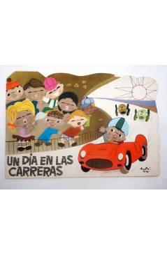 Cubierta de CUENTOS EN CINEMASCOPE 16. UN DÍA EN LAS CARRERAS (Sotillos / Acosta Moro) Toray 1960