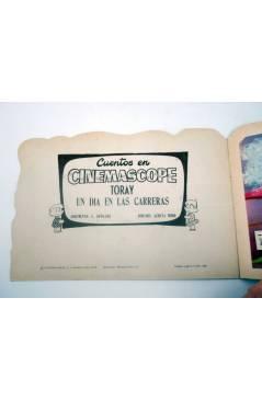 Muestra 1 de CUENTOS EN CINEMASCOPE 16. UN DÍA EN LAS CARRERAS (Sotillos / Acosta Moro) Toray 1960