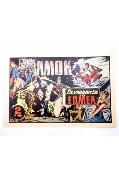 Cubierta de AMOK 2. LA VENGANZA DE EDMEA (No Acreditado) Dólar 1981