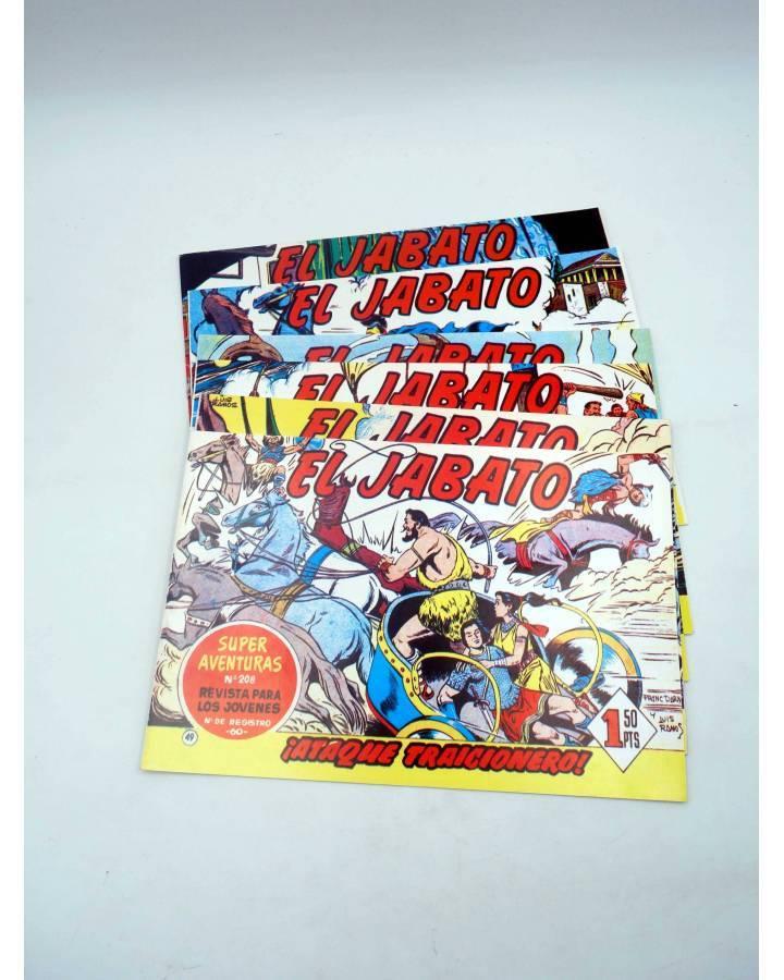 Cubierta de EL JABATO 49 A 56. 8 NºS. REEDICIÓN FACSIMIL (No Acreditado) Bruguera 1981