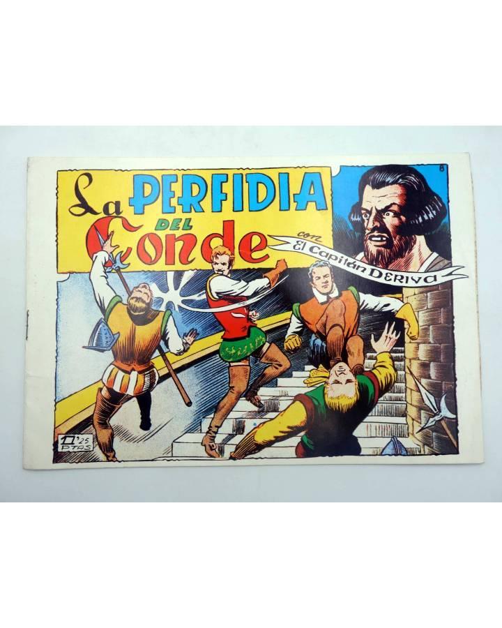Cubierta de EL CAPITAN DERIVA 8. LA PERFIDIA DEL CONDE (Ferintro) Toray 1985
