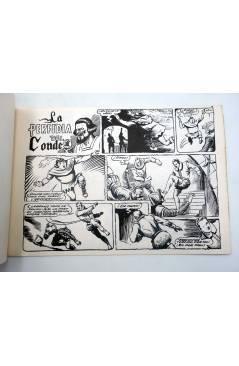 Contracubierta de EL CAPITAN DERIVA 8. LA PERFIDIA DEL CONDE (Ferintro) Toray 1985