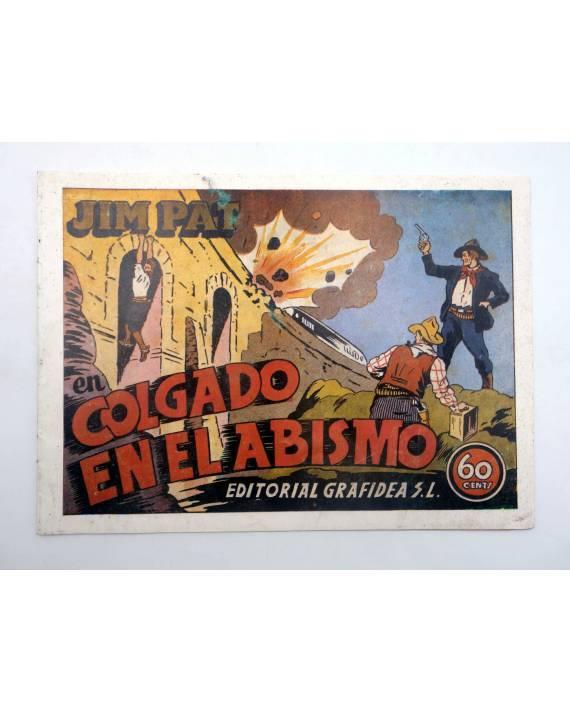 Cubierta de JIM PAT 7. COLGADO EN EL ABISMO (No Acreditado) Grafidea 1985