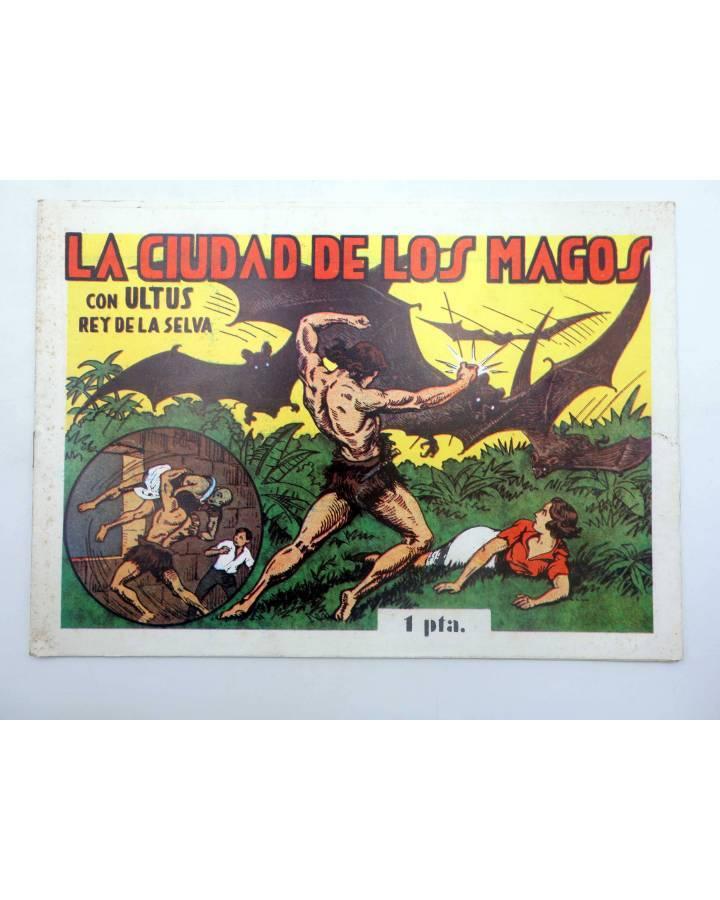 Cubierta de ULTUS REY DE LA SELVA 14. La ciudad de los magos (Pertegás) Guerri 1985
