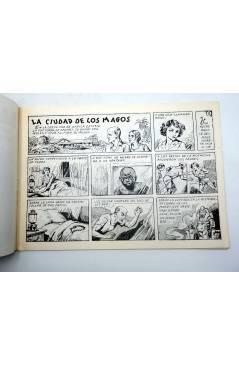 Contracubierta de ULTUS REY DE LA SELVA 14. La ciudad de los magos (Pertegás) Guerri 1985