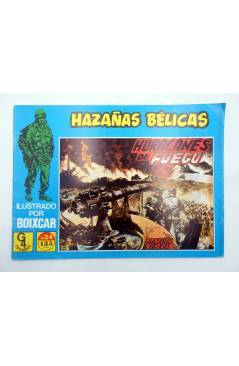 Cubierta de HAZAÑAS BÉLICAS 24. HURACANES DE FUEGO (Boixcar) G4 1987