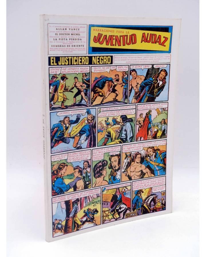 Cubierta de JUVENTUD AUDAZ TOMO 2. NºS 9 A 16 (Vvaa) JLA 1990