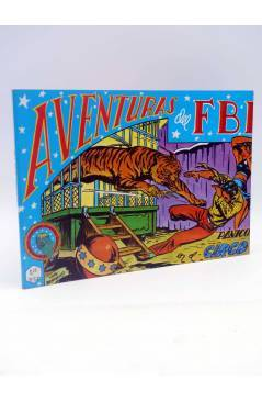 Cubierta de AVENTURAS DEL FBI TOMO 4. Nºs 19 a 24 (Bermejo) B.O. 1981