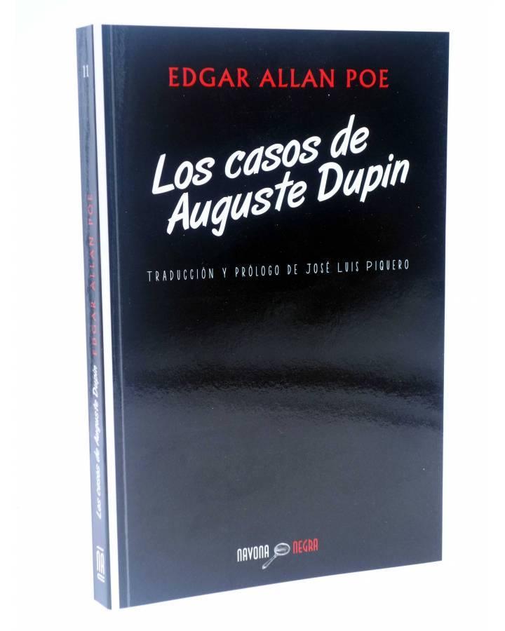 Cubierta de NEGRA 11. LOS CASOS DE AUGUSTE DUPIN (Edgar Allan Poe) Navona 2014