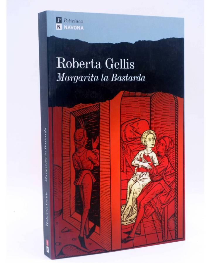 Cubierta de MARGARITA LA BASTARDA (Roberta Gellis) Navona 2007
