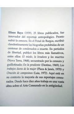 Muestra 1 de ESTRICTAMENTE PROHIBIDO. REPORTAJES CENSURADOS Y OTROS RELATOS DE LA ESPAÑA NEGRA (Eliseo Bayo) Prensa Ibér