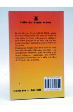 Contracubierta de CHE. COMANDANTE DEL ALBA (Renée Méndez Capote) Gente Nueva 1998