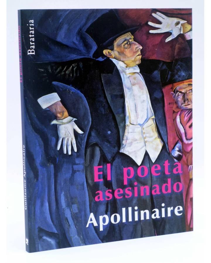 Cubierta de BÁRBAROS. EL POETA ASESINADO (Guillaume Apollinaire) Barataria 2012