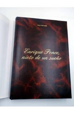 Contracubierta de ENRIQUE PONCE NIETO DE UN SUEÑO ED NUMERADA 150 EJS (Paco Villaverde) DPV 2007