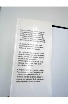 Contracubierta de ENRIQUE PONCE NIETO DE UN SUEÑO 2ª edición. Año Ponce (Paco Villaverde) DPV 2009