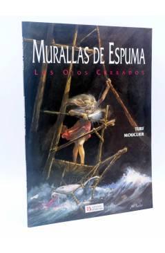 Cubierta de MURALLAS DE ESPUMA. LOS OJOS CERRADOS (Turf / Mouclier) Zinco 1992