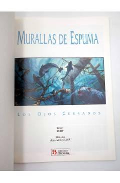 Muestra 1 de MURALLAS DE ESPUMA. LOS OJOS CERRADOS (Turf / Mouclier) Zinco 1992