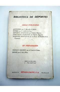Muestra 6 de BIBLIOTECA DE DEPORTES NUESTRAS MONTAÑAS (A. Ferrer – El Hombre De Las Cavernas) Espasa Calpe 1927