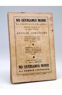 Contracubierta de REVISTA MERIDIANO SÍNTESIS DE LA PRENSA MUNDIAÑ 1 (Vvaa) La Católica 1943