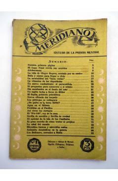 Muestra 4 de REVISTA MERIDIANO SÍNTESIS DE LA PRENSA MUNDIAÑ 1 (Vvaa) La Católica 1943