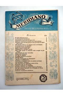 Muestra 1 de REVISTA MERIDIANO SÍNTESIS DE LA PRENSA MUNDIAL. LOTE DE 7 (Vvaa) La Católica 1944