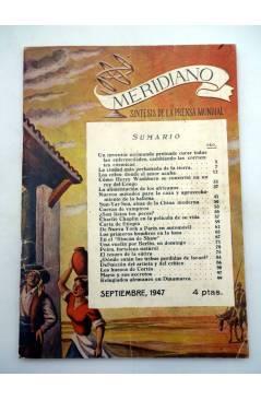 Muestra 3 de REVISTA MERIDIANO SÍNTESIS DE LA PRENSA MUNDIAL. LOTE DE 7 (Vvaa) La Católica 1944