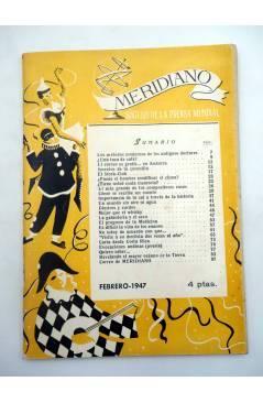 Muestra 4 de REVISTA MERIDIANO SÍNTESIS DE LA PRENSA MUNDIAL. LOTE DE 7 (Vvaa) La Católica 1944