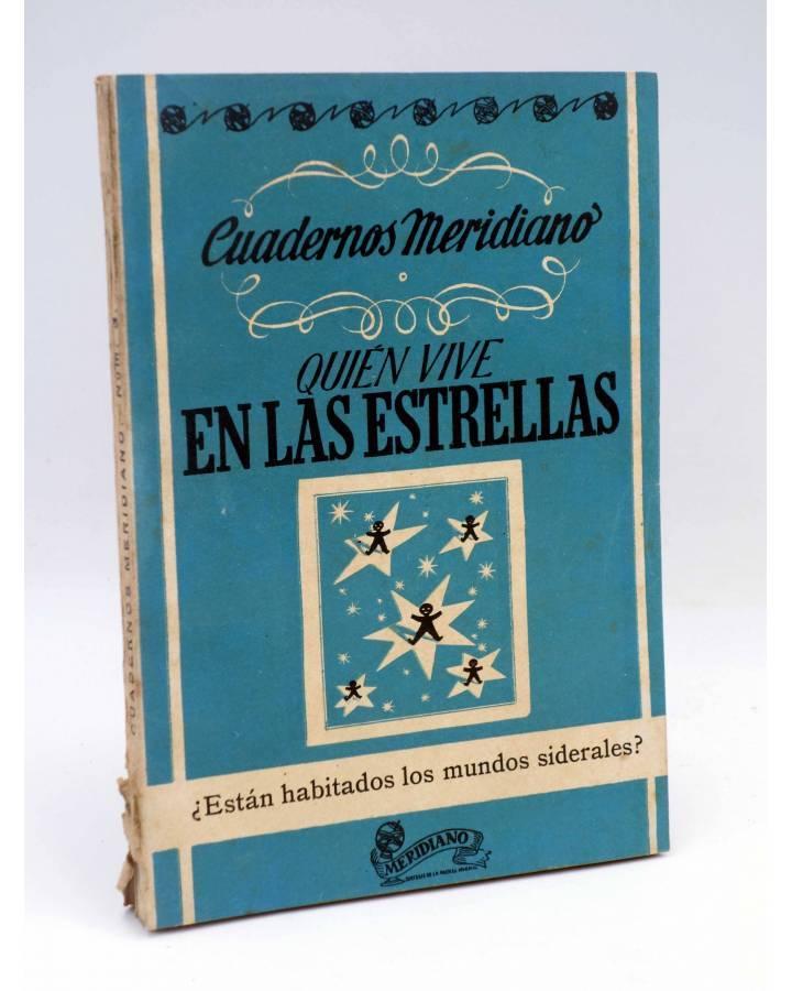 Cubierta de CUADERNOS MERIDIANO 3. QUIEN VIVE EN LAS ESTRELLAS (Desiderius Papp) Saso 1946