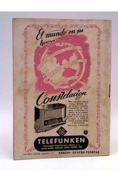 Contracubierta de REVISTA SÍNTESIS. CRISOL DE LA PRENSA UNIVERSAL 22 (Vvaa) Piles 1947