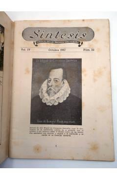 Muestra 1 de REVISTA SÍNTESIS. CRISOL DE LA PRENSA UNIVERSAL 22 (Vvaa) Piles 1947