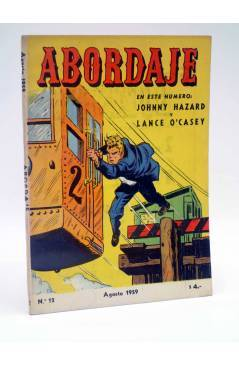 Cubierta de ABORDAJE 12. LANCE O'CASEY JOHNNY HAZZARD (Frank Robbins) Bois 1959