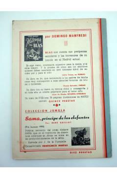 Contracubierta de COLECCION NARRACIONES MARAVILLOSAS 1. ULISES (Alberto Luís Pérez / Abdon Fernández) Aitana 1950
