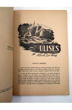 Muestra 1 de COLECCION NARRACIONES MARAVILLOSAS 1. ULISES (Alberto Luís Pérez / Abdon Fernández) Aitana 1950