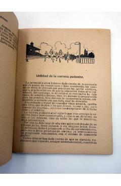 Muestra 3 de LAS CARRERAS A PIE EN PISTA Y A CAMPO TRAVIESA (Juan Vermeulen) Españolas s/f
