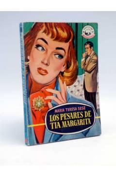 Cubierta de COLECCIÓN MADREPERLA 456. LOS PESARES DE TÍA MARGARITA (María Teresa Sesé) Bruguera 1957