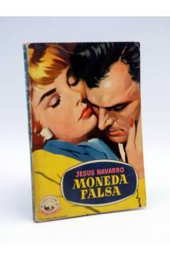 Cubierta de COLECCIÓN MADREPERLA 508. MONEDA FALSA (Jesús Navarro) Bruguera 1958