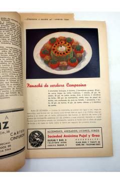 Contracubierta de MENAGE REVISTA DE COCINA 149. 2ª ÉPOCA. AÑO XIII (Vvaa) Hogar 1943