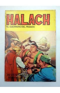 Cubierta de HALACH EL GUERRERO DEL PASADO 9. LUCHA SIN CUARTEL (Fariñas / Farrés) Antalbe 1982