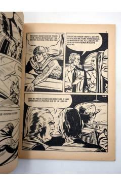 Contracubierta de HALACH EL GUERRERO DEL PASADO 9. LUCHA SIN CUARTEL (Fariñas / Farrés) Antalbe 1982