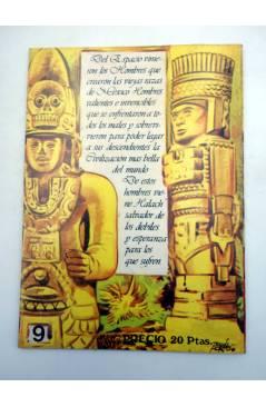 Muestra 1 de HALACH EL GUERRERO DEL PASADO 9. LUCHA SIN CUARTEL (Fariñas / Farrés) Antalbe 1982