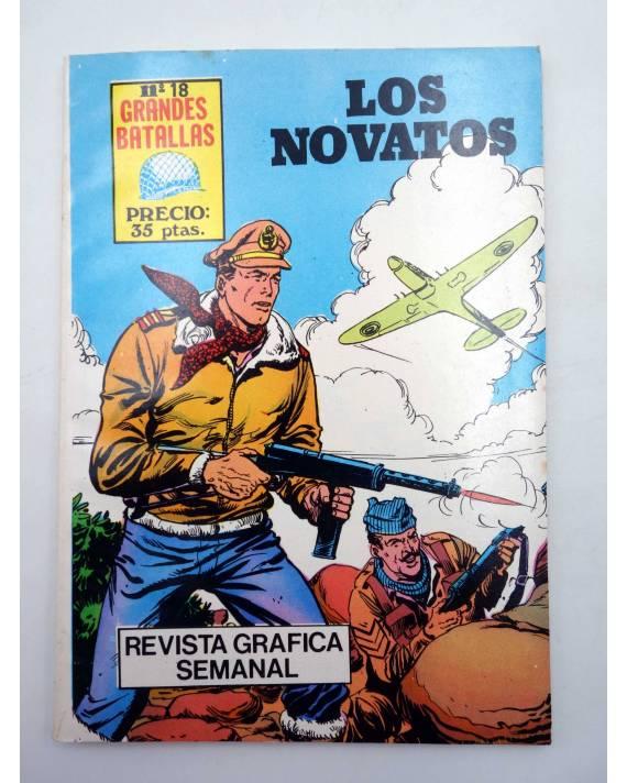 Cubierta de GRANDES BATALLAS 18. LOS NOVATOS (Vvaa) Antalbe 1981