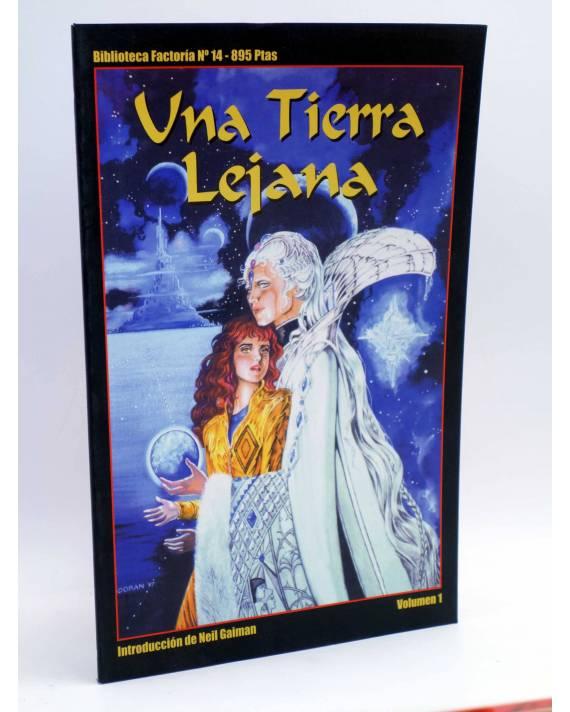 Cubierta de BIBLIOTECA FACTORÍA 14. UNA TIERRA LEJANA vol. 1 (Colleen Doran) La Factoría de Ideas 2001