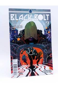 Cubierta de BLACK BOLT 3 (Saladin Ahmed / Christian Ward) Marvel 2017. VF