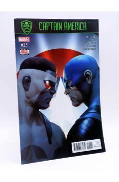 Cubierta de CAPTAIN AMERICA 25 (Spencer / Saiz / Bennet) Marvel 2017. FN